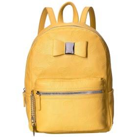 BETSEY JOHNSON(ベッツィジョンソン) バッグ バックパック・リュックサック Backpack with Dangle Mustard レディース [並行輸入品]