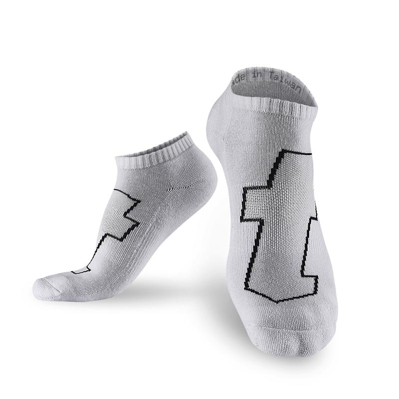 生活運動襪 白 - 5雙 L (26-29cm)