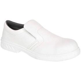 [Portwest] FW81 Steelite™スリップオン安全靴S2ホワイトFW81WH-R43