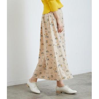 その他スカート - ROPE' PICNIC フラワープリントロングスカート