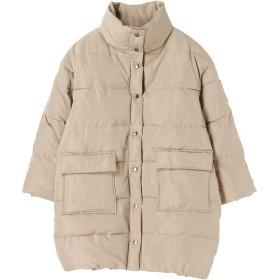 【6,000円(税込)以上のお買物で全国送料無料。】・中綿ロングコート