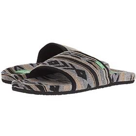 [サヌーク] レディースサンダル・靴 Furreal Slide Black Navajo (25cm) B - Medium [並行輸入品]