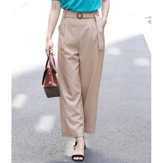 パンツ・ズボン全般 - ViS 【EASY CARE & UV CARE & COOL TOUCH】斜めポケットワイドパンツ