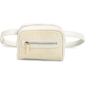 [マリプラスリリ] レディース ハンドバッグ Mali + Lili Amanda Straw Belt Bag [並行輸入品]