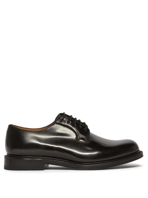 Church's - Shannon Leather Derby Shoes - Mens - Black