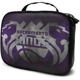 Sacramento Kings サクラメントキングス 6 化粧品収納メイクポーチ トラベルポーチ 化粧ポーチ ーバッグ バスルームポーチ 小物 多機能 収納 バッグインバッグ 大容量 出張 旅行グッズ
