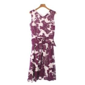 STRAWBERRY Fields  / ストロベリーフィールズ レディース ワンピース 色:紫x白(総柄) サイズ:2(M位)
