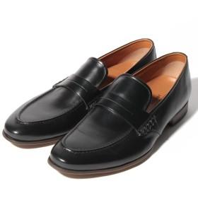 クラウン製靴 ローファー メンズ ブラック 25.5 【CROWN SHOE CO.、LTD.】