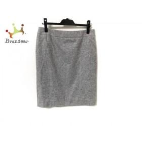 サルバトーレフェラガモ スカート サイズUSA8 M レディース - - ライトグレー   スペシャル特価 20200116