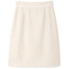 【公式/プロポーションボディドレッシング】[堀田茜さん着用]ラメモールジャガードタイトスカート/女性/スカート/アイボリー/サイズ:3/(表生地)アクリル 57% ポリエステル 43%(裏生地)ポリエステル 100%