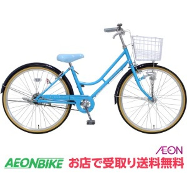 子供用 自転車 デ・アンジェリス LEDオートライト E ブルー 変速なし 22型 お店受取り限定