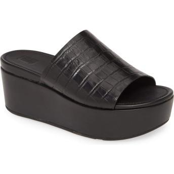 [フィットフロップ] レディース サンダル Eloise Platform Slide Sandal (Wo [並行輸入品]