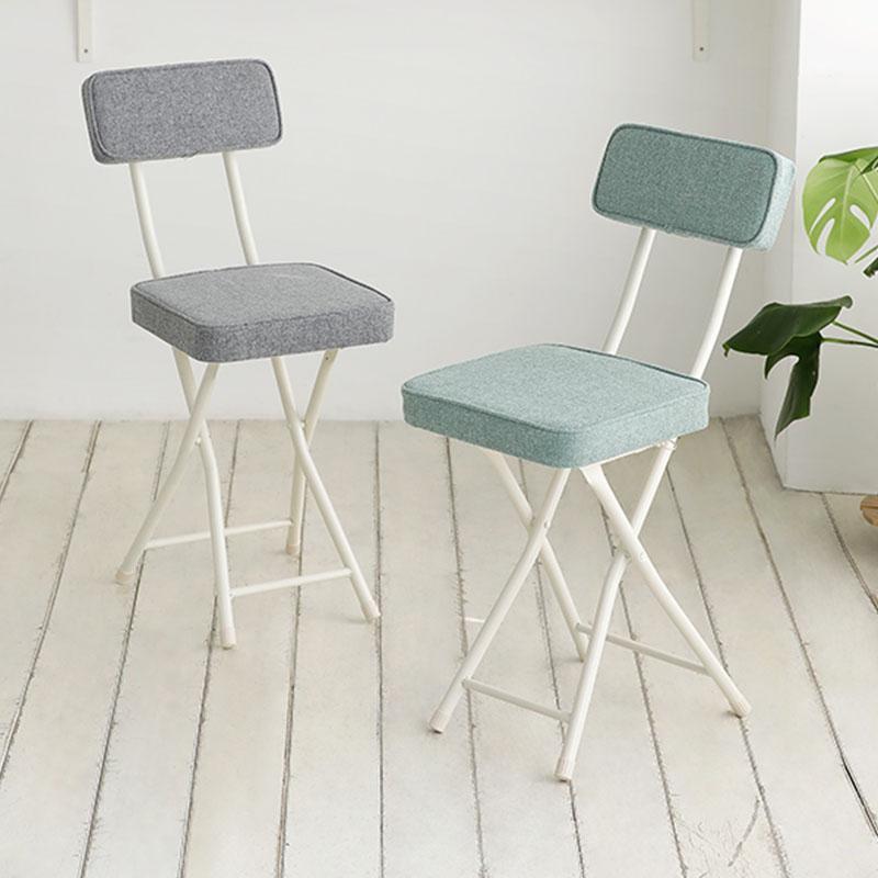 斯維特方形靠背折疊椅(辦公椅系列) 灰色