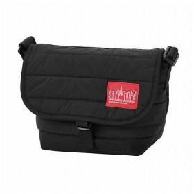 マンハッタン ポーテージ Quilting Fabric Casual Messenger Bag JR ユニセックス Black S 【Manhattan Portage】