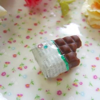 板チョコの帯留め