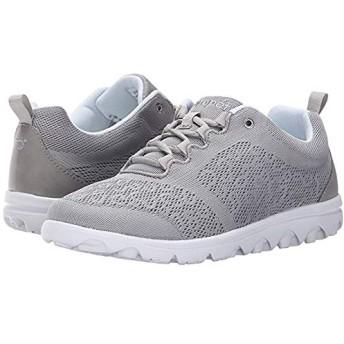 [プロペット] レディーススニーカー・靴・シューズ TravelActiv Silver (24.5cm) X (2E) [並行輸入品]