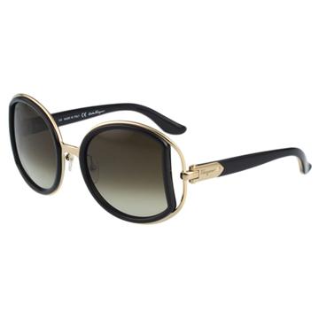 Salvatore Ferragamo- 時尚 太陽眼鏡(黑色)