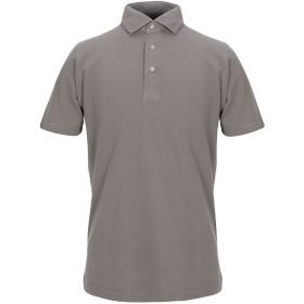 《セール開催中》GRAN SASSO メンズ ポロシャツ 鉛色 50 コットン 100%