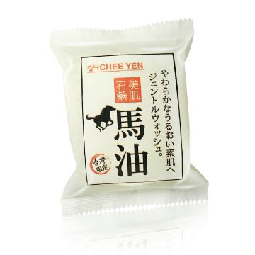 馬油洗顏化妝石鹼皂晶120g(1入)