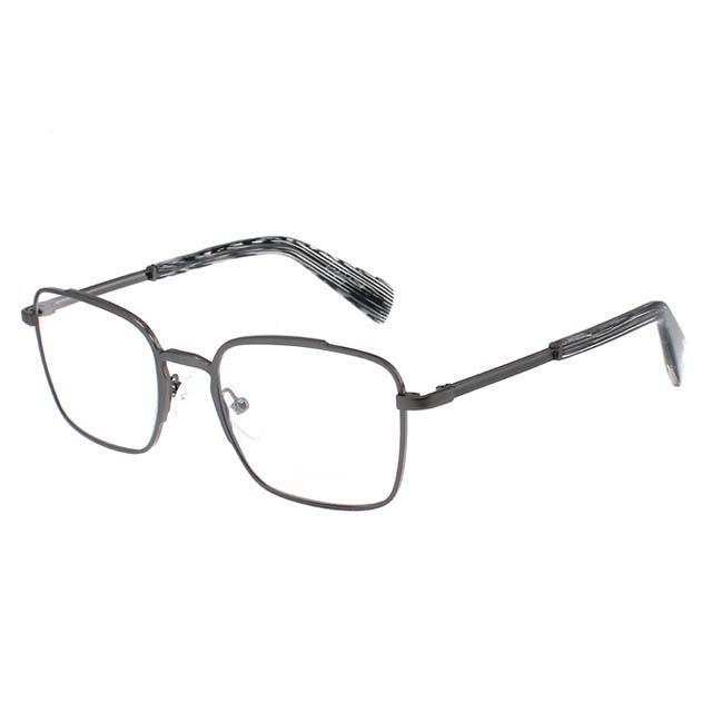 Yohji Yamamoto 山本耀司 方型時尚光學眼鏡【鐵灰】YY3006-902