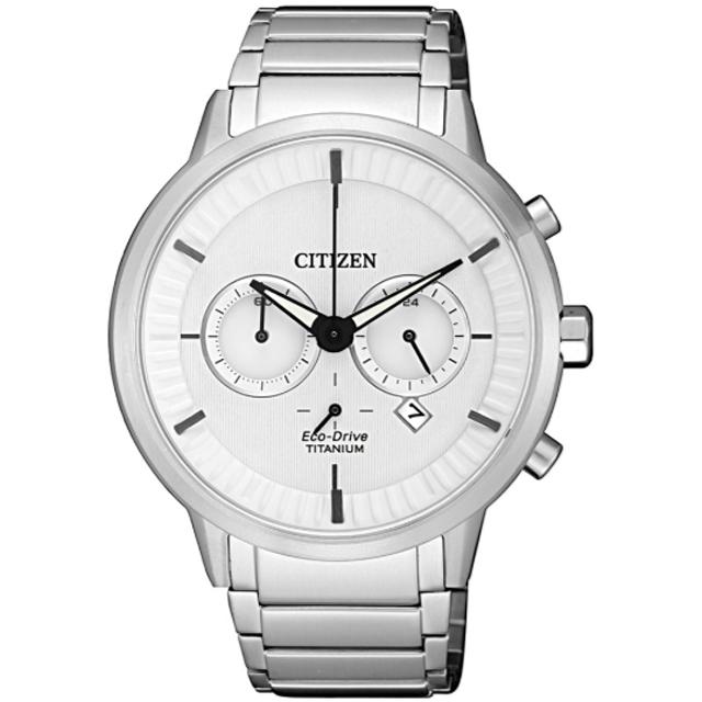 CITIZEN Eco-Drive 神秘鈦空光動能雙眼腕錶(CA4400-88A)