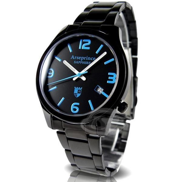【Arseprince】迷戀風情中性錶-海洋藍