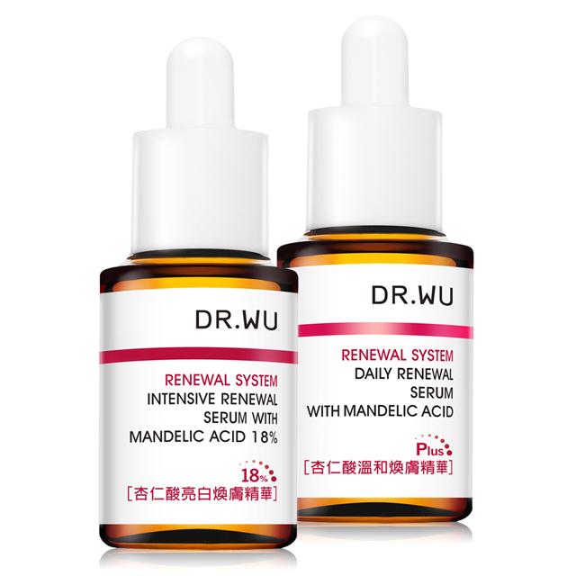DR.WU 經典不敗杏仁酸雙星