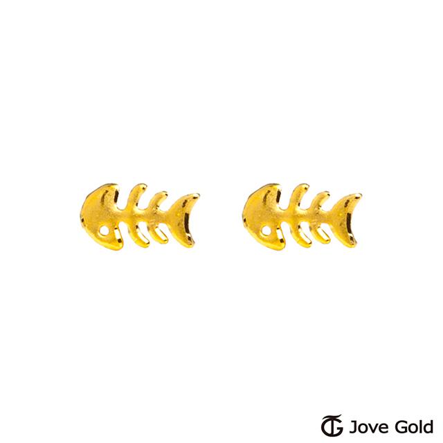 Jove gold 愛你入骨黃金耳環