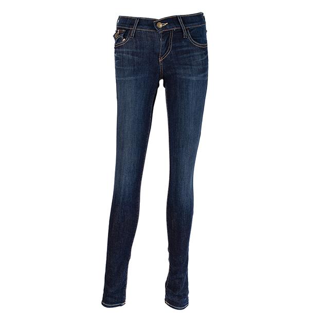 【美國True Religion】女CASEY低腰修身煙 管牛仔褲-AXDD