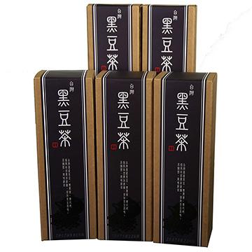 【源順】台灣養生黑豆茶(16包/盒)x5