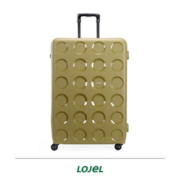 LOJEL VITA 防盜拉鍊箱 PP材質 行李箱 32吋 PP10 橄欖綠