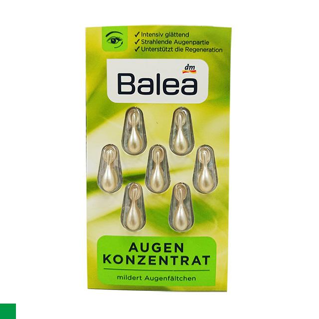 歐洲原裝進口 BALEA  眼部緊緻精華膠囊 7粒裝(綠色)