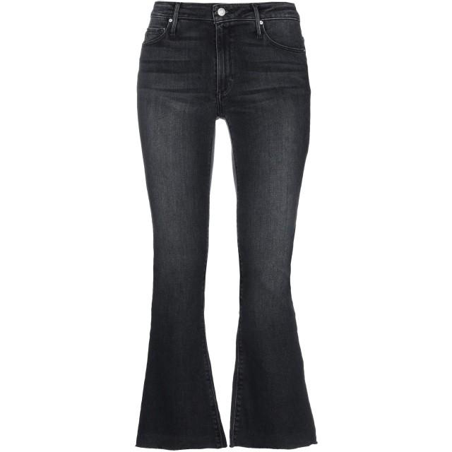 《セール開催中》BLACK ORCHID レディース ジーンズ ブラック 27 コットン 81% / 指定外繊維(テンセル) 11% / エラストマルチエステル 6% / ポリウレタン 2%