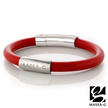 MASSA-G H-FEVER全彩6mm鍺鈦手環-巴西紅