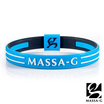 MASSA-G Energy Plus 雙面鍺鈦能量手環 藍