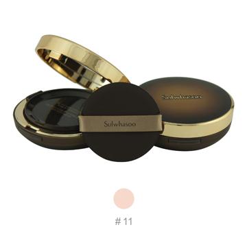 《Sulwhasoo 雪花秀》臻顏逆齡氣墊粉霜SPF50+/PA+++(#11)15g*2+粉盒