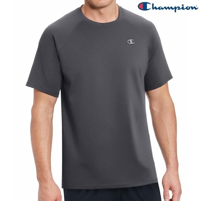 Champion Vapor男訓練排汗Tee T0881-B99深灰色