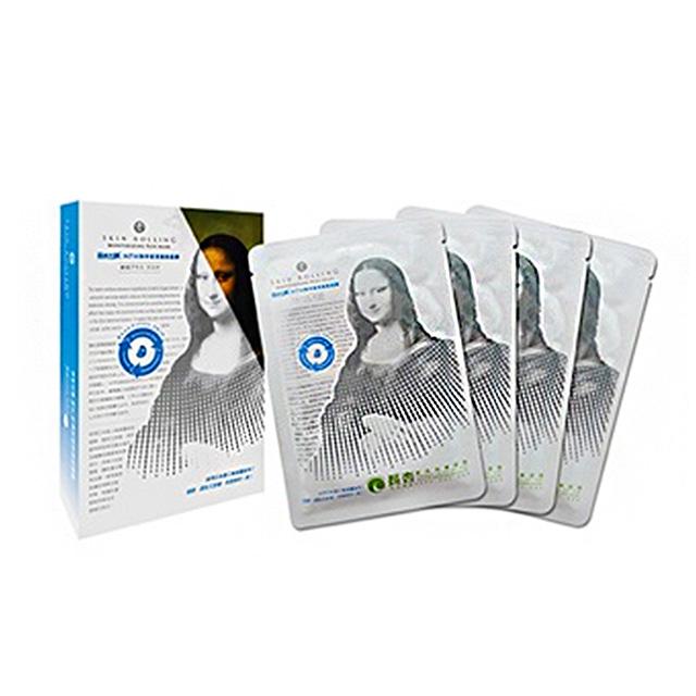【MONALISA 蒙娜麗莎】強效保濕蠶絲面膜(4pcs/盒)