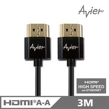 Avier HDMI A TO A 3M超薄影音傳輸線(AM430P1)