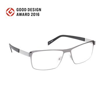 nine 丹麥設計日本製作 EDGE系列光學眼鏡-槍色【EDGE 2228 TIT】