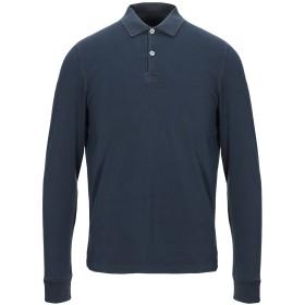 《セール開催中》COOPERATIVA PESCATORI POSILLIPO メンズ ポロシャツ ダークブルー S コットン 94% / ポリウレタン 6%