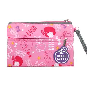 【BTU x Kitty】Hello Kitty 蘋果樂園萬用包-粉紅KT00Q08PK