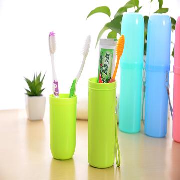 旅行便攜式防菌牙刷牙膏收納盒(蘋果綠)