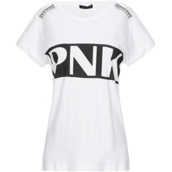 《セール開催中》PINKO レディース T シャツ アイボリー M コットン 100%