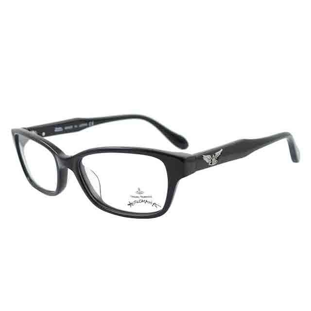 【Vivienne Westwood】英國Anglomania●雙翼土星浮雕光學眼鏡(黑)AN267-01