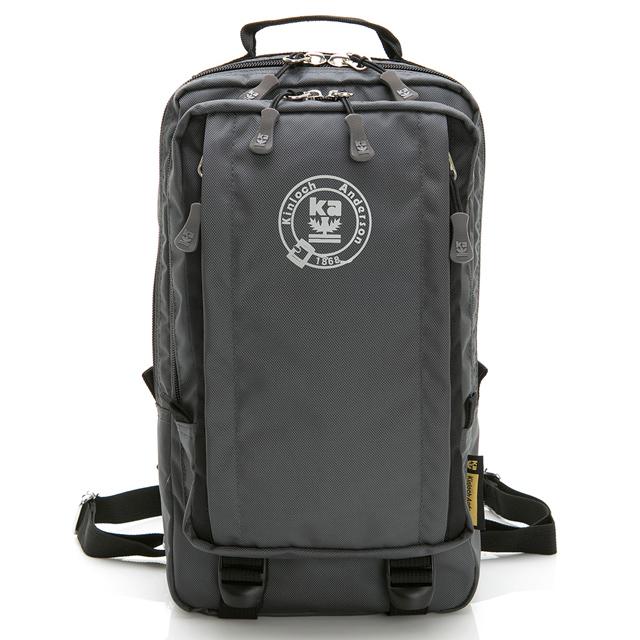 【金安德森】極限機能 3Way防潑水多層收納正方後背包-灰黑(KA169201BKF)