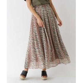 【aquagirl:スカート】フルールラックロングスカート