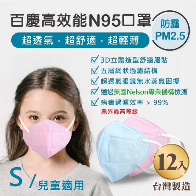 *3D立體造型*特附S鉤密合*升級款鼻樑夾*超透氣眼鏡無水蒸氣困擾*抗空污 PM 2.5*Hepa 級奈米纖維*病毒過濾效率 > 99%