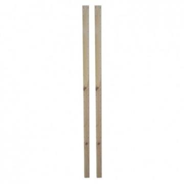松木支柱2入-H175CM