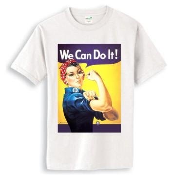 we can do it-02進口經典復古電影人物短T/ROCK/RETRO/ANVIL/HANES圓筒
